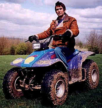 Jon Heasman on a Quad Bike
